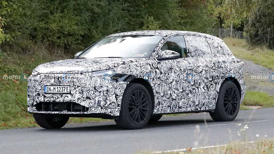 2023 Audi Q6 E-Tron Spied Up Close With Production Body