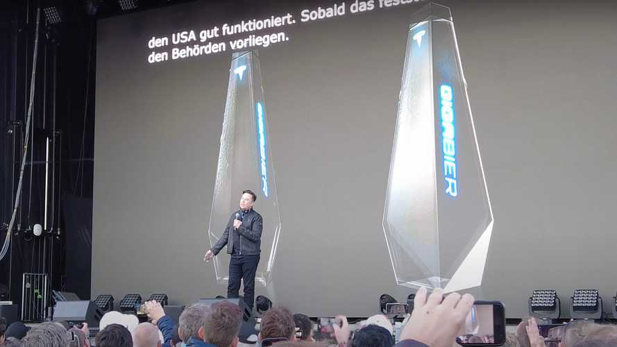 Tesla To Sell Beer In Cybertruck-Inspired Bottle At Giga Berlin