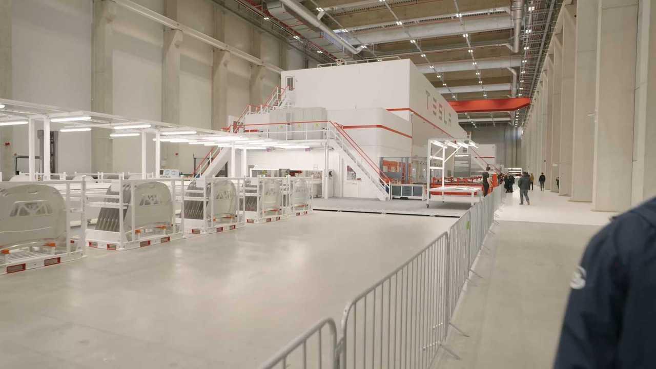 Tesla Gigafactory Berlin-Brandenburg County Fair in Germany (October 10, 2021)
