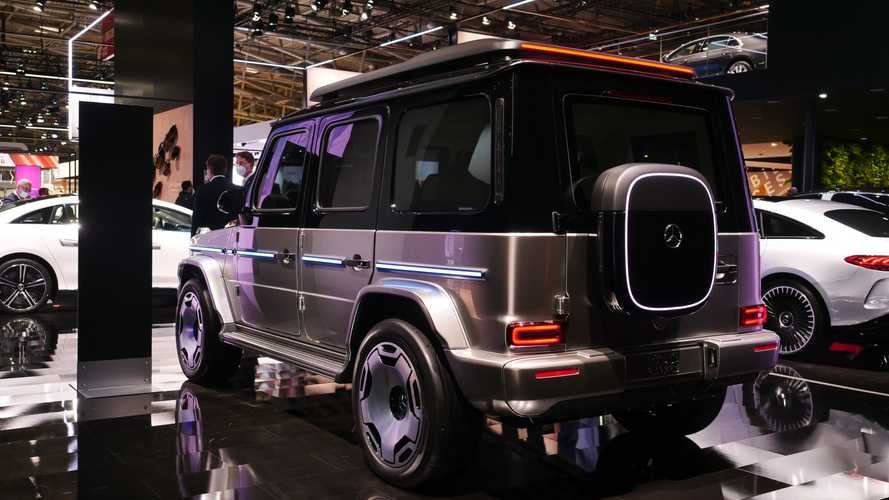 Mercedes-Benz Concept EQG: salón de Múnich 2021