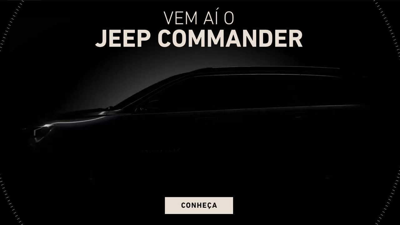Jeep Commander 2022 - Hotsite