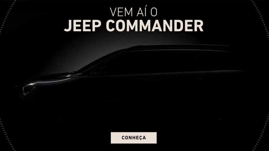Novo Jeep Commander 2022 ganha site especial antes de lançamento