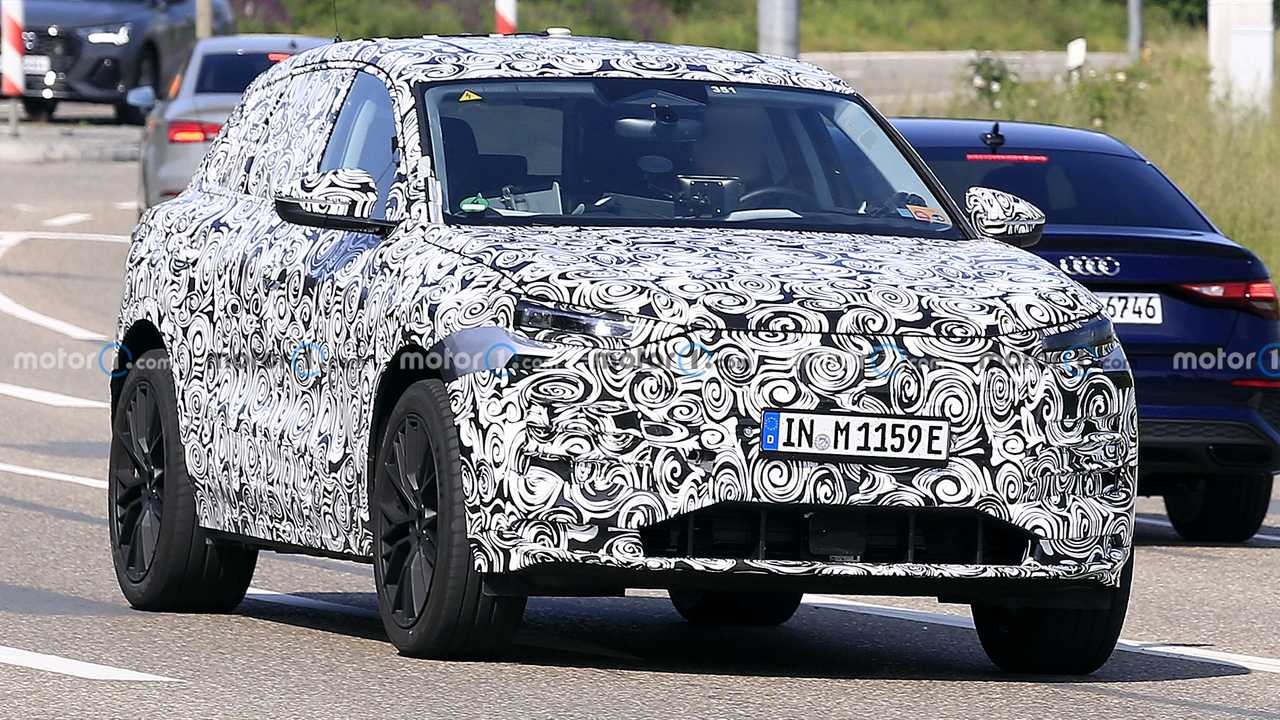 Audi Q6 E-Tron Prototipi Ön Cephe