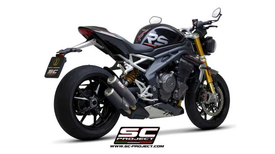 SC Project Releases Exhaust For Triumph Speed Triple 1200 RS