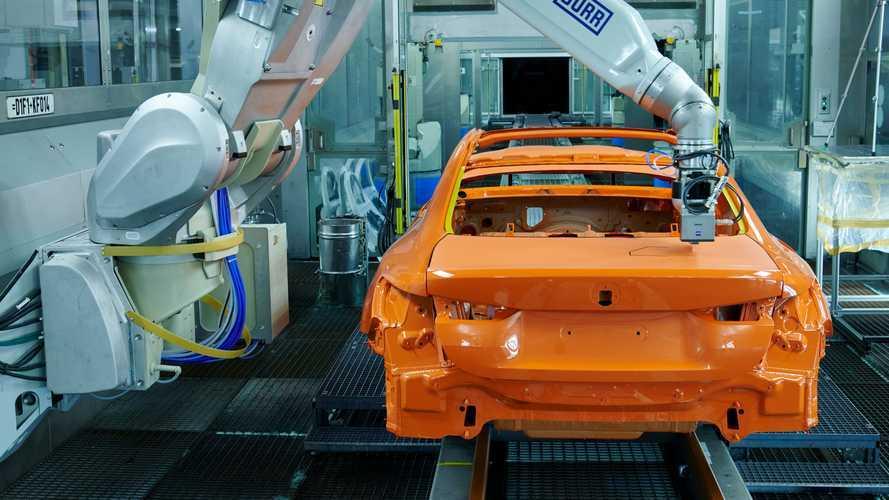 BMW M4 with EcoPaintJet Pro