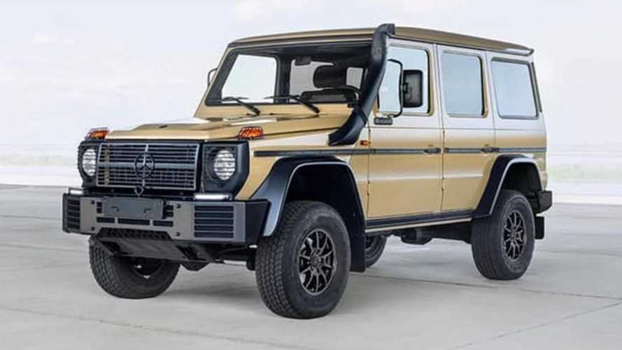 New military-spec Mercedes G-Wagen announced with more power, torque