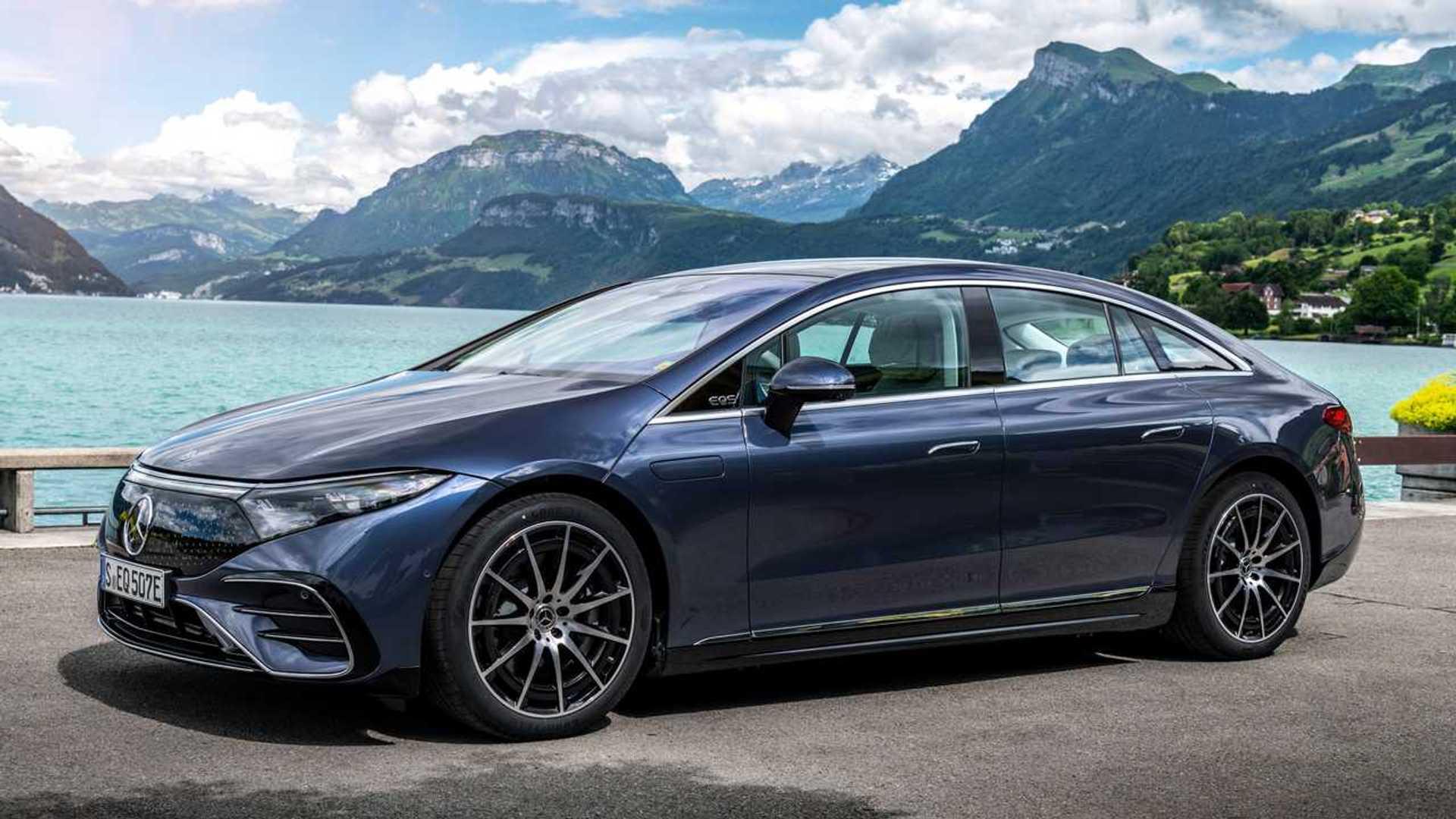 Mercedes-Benz EQS 2022 Lebih Murah daripada Mercedes S-Class