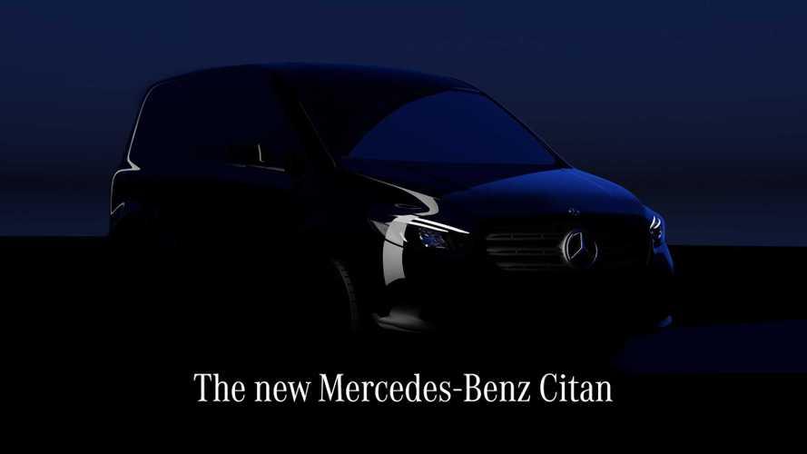 Mercedes-Benz показал тизер и назвал дату премьеры нового Citan