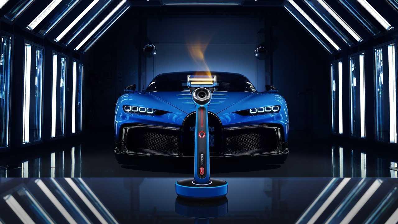 Rasoir chauffant Bugatti et Gillette