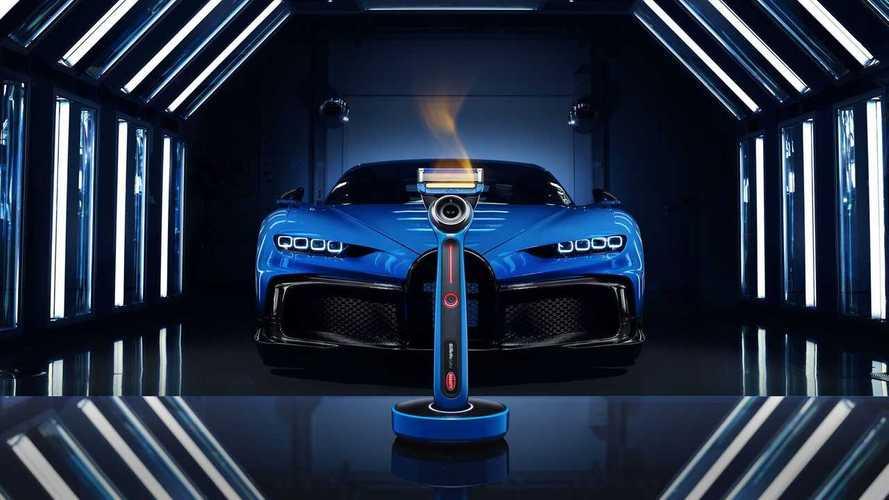 Bugatti et Gillette lancent un rasoir chauffant en édition limitée