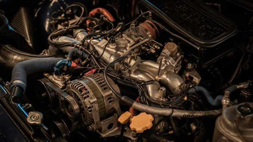 """1993 Subaru Impreza STI """"555"""" ex Colin McRae"""