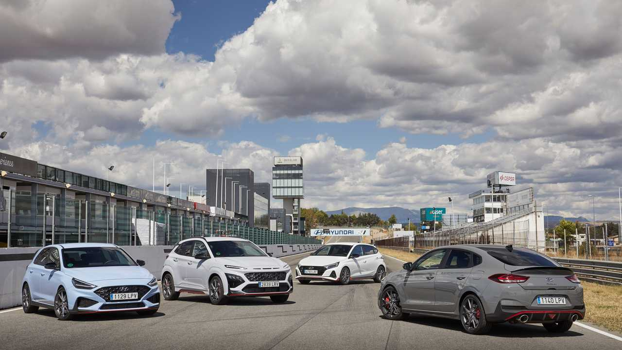 Prueba gama N de Hyundai