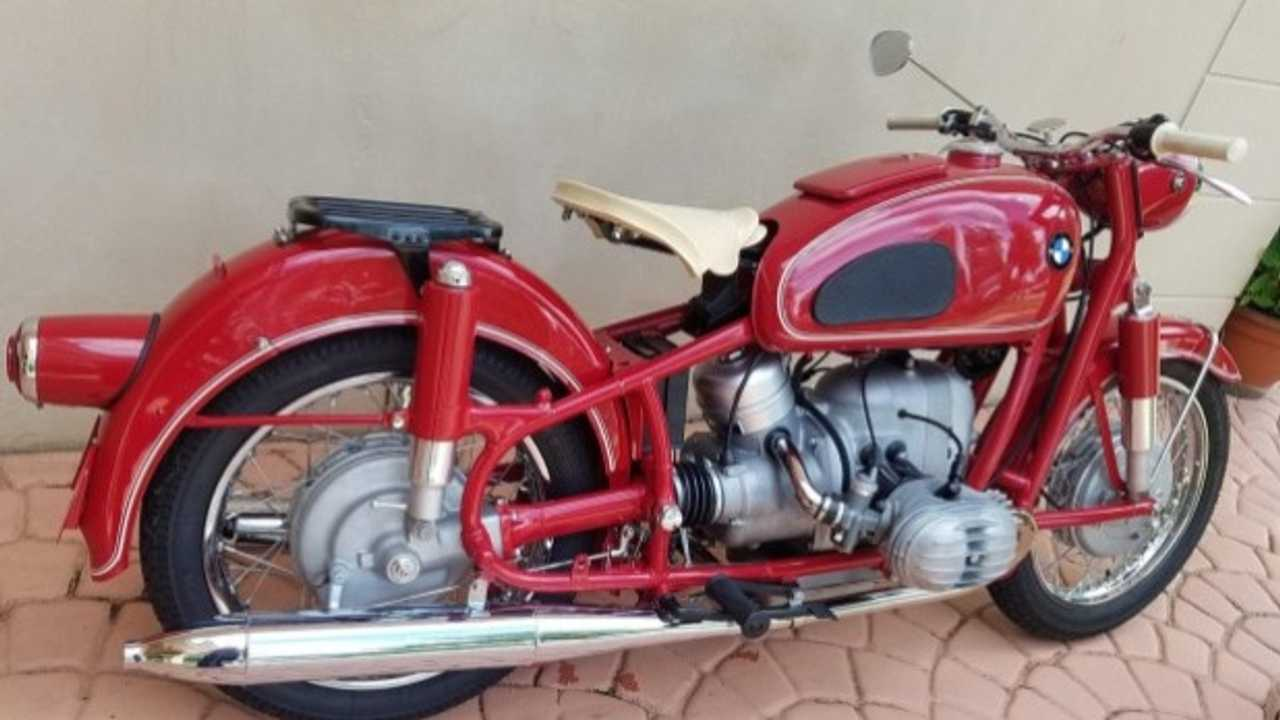 1957 Triple Number-Matched BMW R50 For Sale