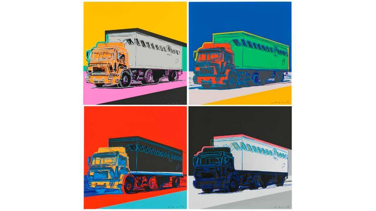 """Andy Warhol """"Trucks Series"""""""