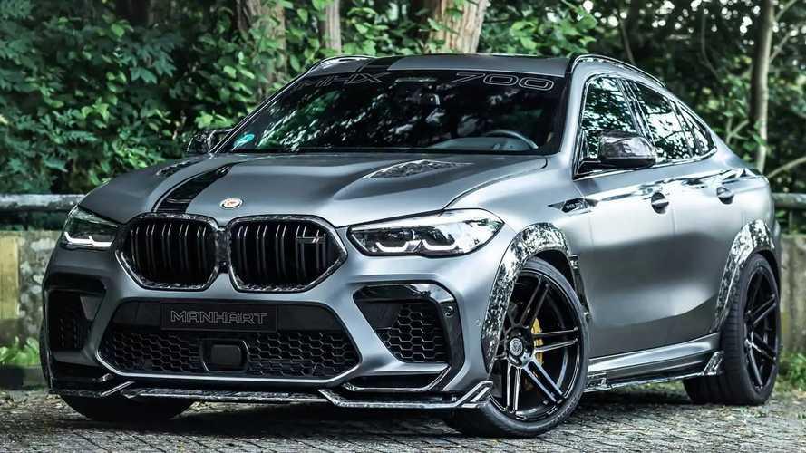BMW X6 M Competition Disulap Jadi Masterpiece Karbon oleh Manhart