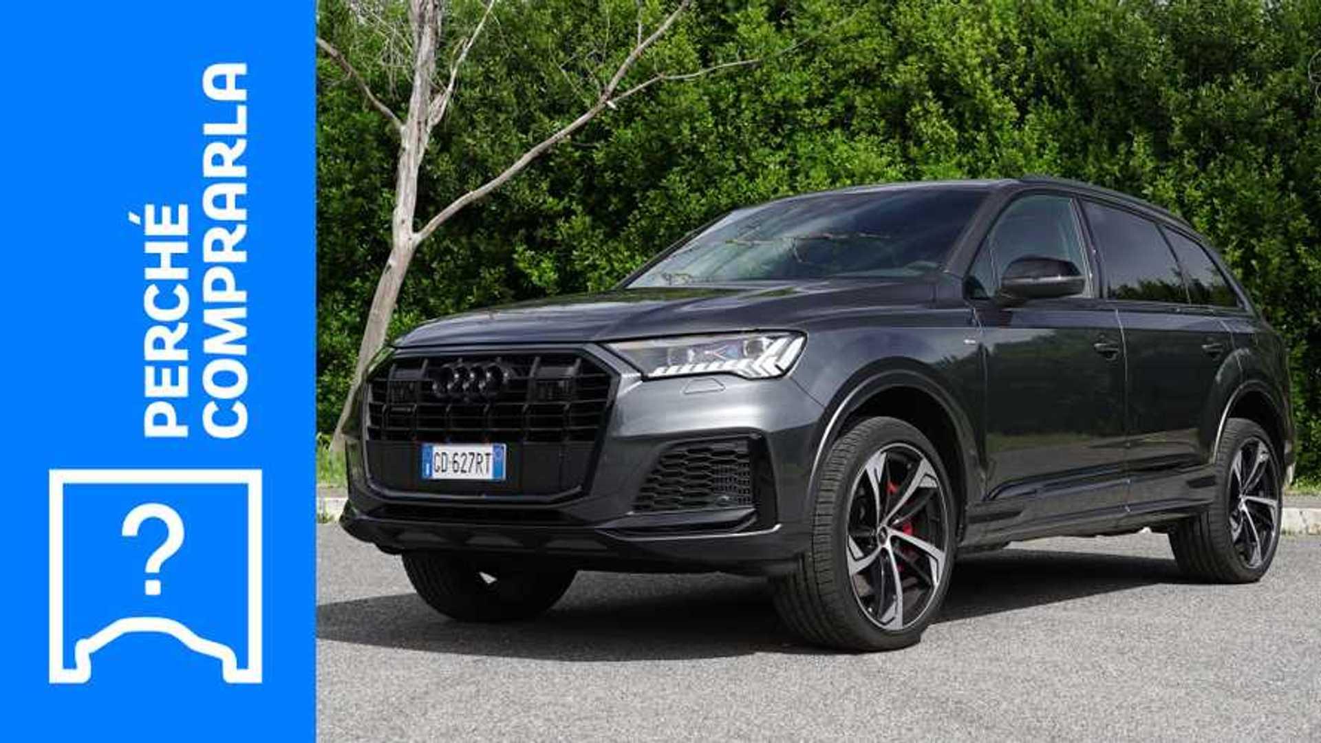 Audi Q7 (2021), perché comprarla e perché no