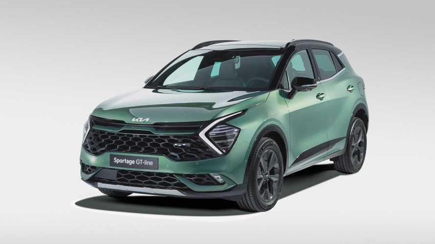 2022 Kia Sportage makes Euro debut with familiar look, shorter wheelbase
