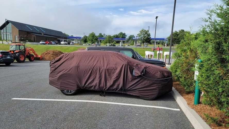 Nissan Ariya Spotted Charging In Vermont Parking Lot