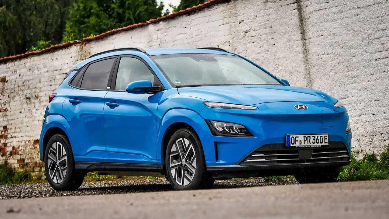 Der Hyundai Kona Elektro in der Lackierung