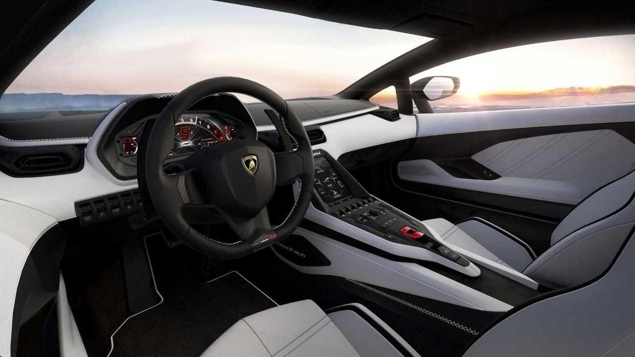 Lamborghini Countach 2021 color