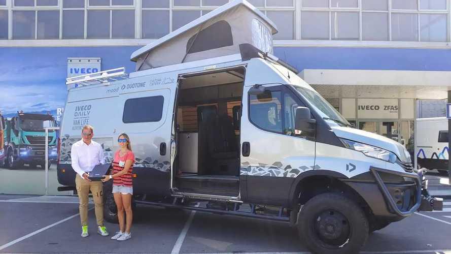 Iveco, un Daily van 4x4 a supporto del progetto Life Adventure