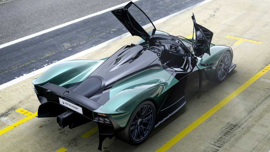 Aston Martin Valkyrie Spider Terungkap, Tanpa Atap dan Kencang!