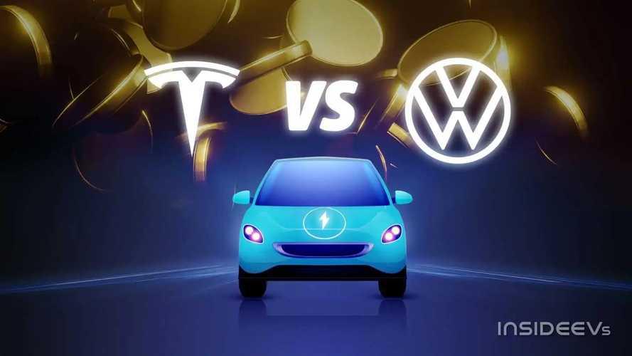 Tesla VS Volkswagen: la sfida sulle auto elettriche per tutti
