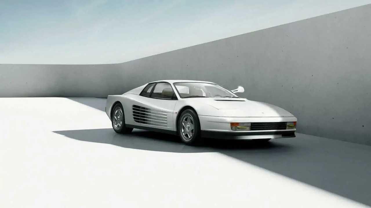 Restomod del Ferrari Testarossa