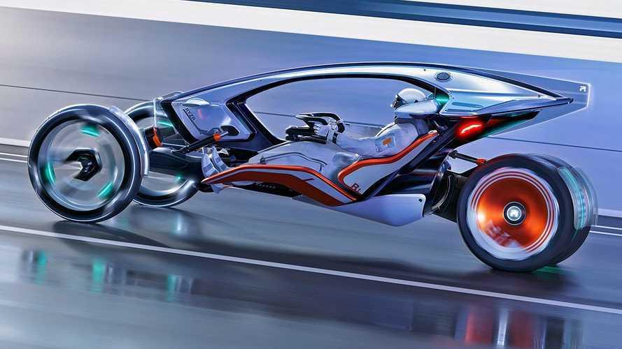 """A SAIC új autó-motor konceptjébe az ember nem beszáll, hanem """"magára ölti azt"""""""