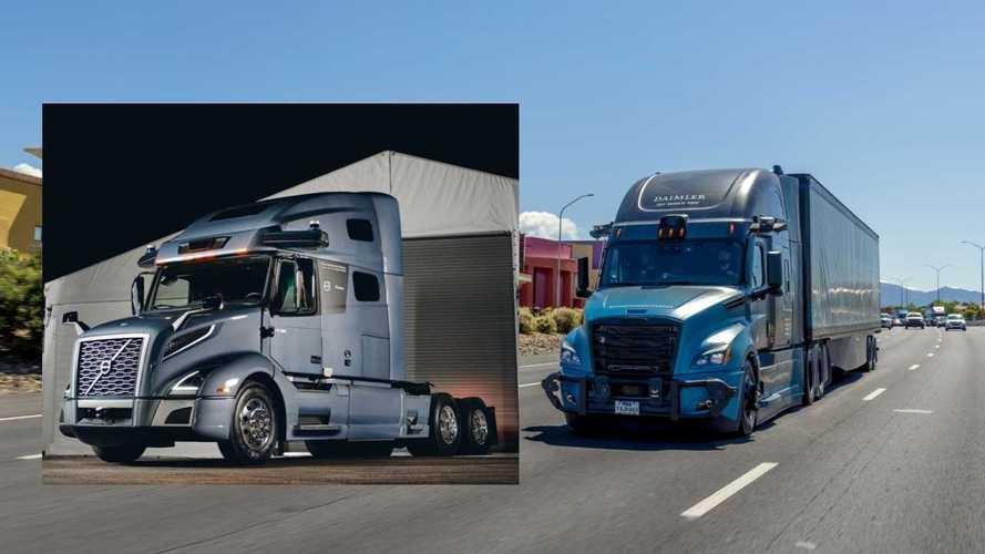 Guida autonoma, Daimler e Volvo Trucks avanti separatamente