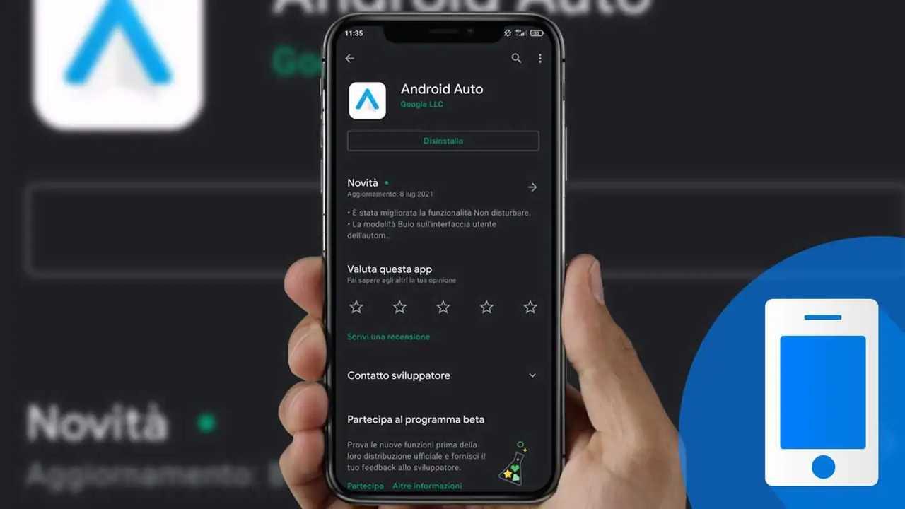 Android Auto programma beta