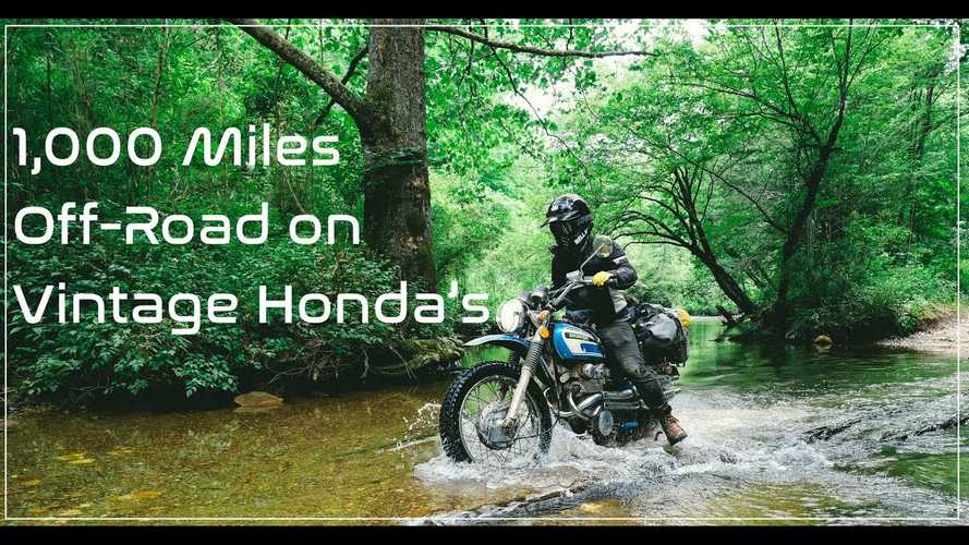 Common Motor Collective Tackles The Vintage 1000 On Classic Hondas