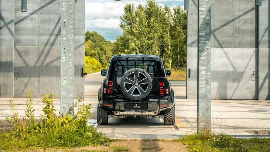 Land Rover Defender, modello unico realizzato da Heritage Customs