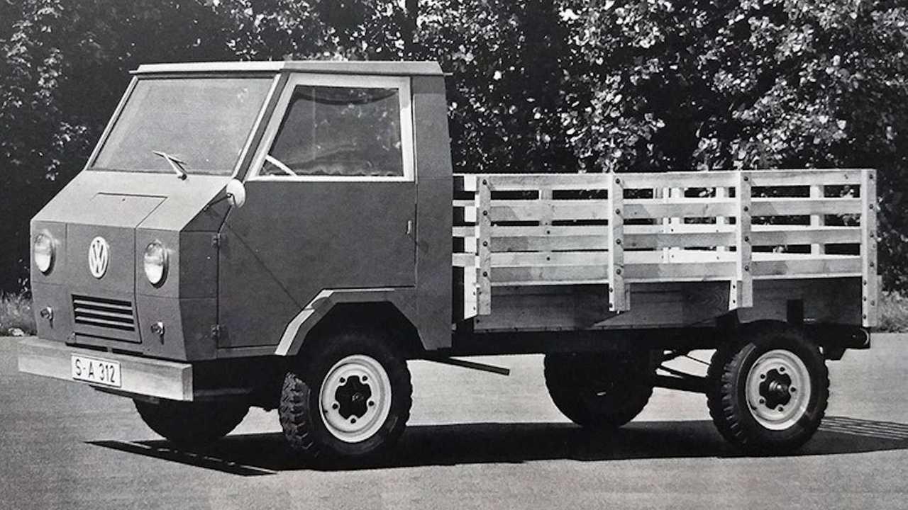 Утилитарный грузовик Volkswagen Basis-Transporter