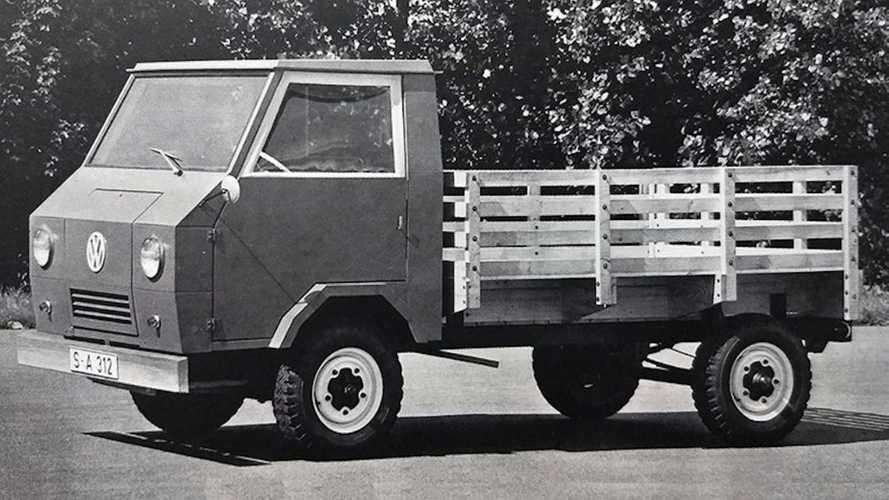 Оцените редчайший грузовик Volkswagen на агрегатах «Жука»