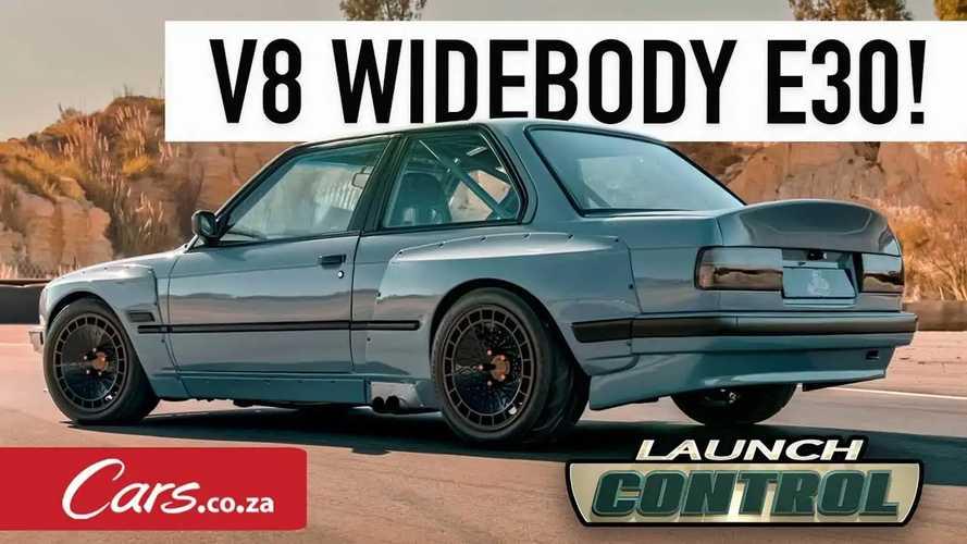 Ganas! Serigala Berbulu Singa, BMW E30 Ini Bermesin Toyota V8