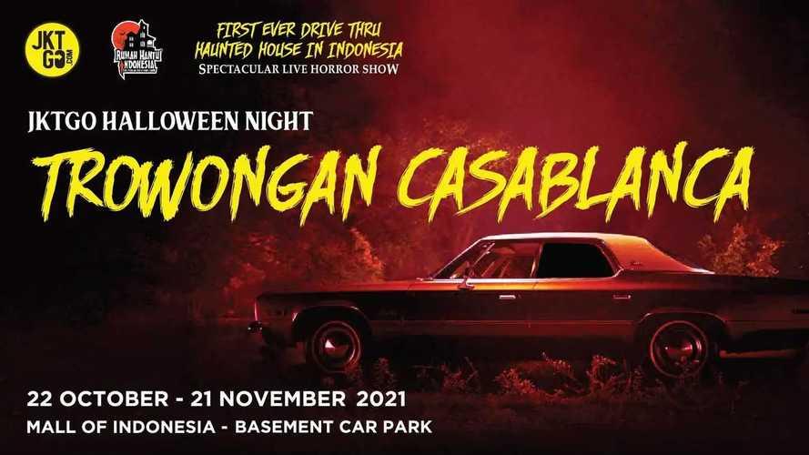 Rayakan Halloween dengan Menyetir Mobil via Terowongan Casablanca