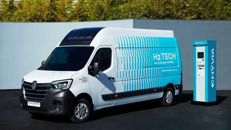 HYVIA, hidrojenli Renault Master Van H2-TECH prototipini tanıttı