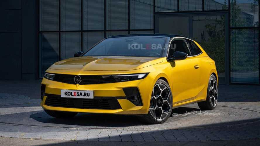 2022 Opel Astra GTC Rendering Needs To Become Reality