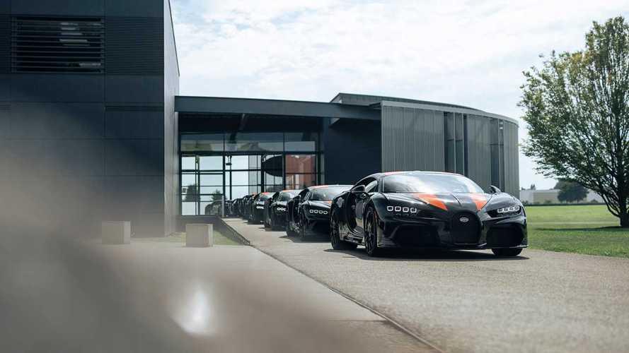 Bugatti Chiron Super Sport 300+, inicio de entregas