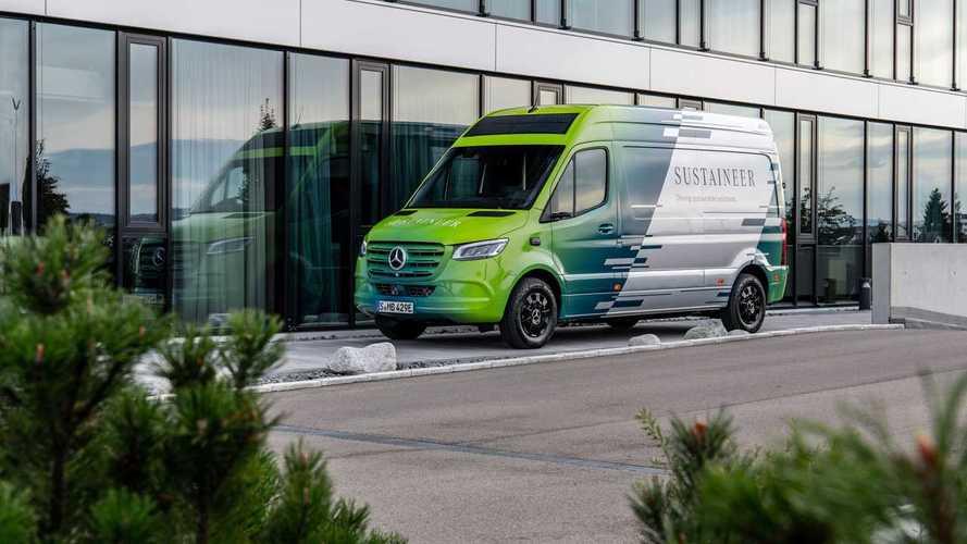 "Mercedes Sustaineer, come eSprinter diventerà ""carbon neutral"""