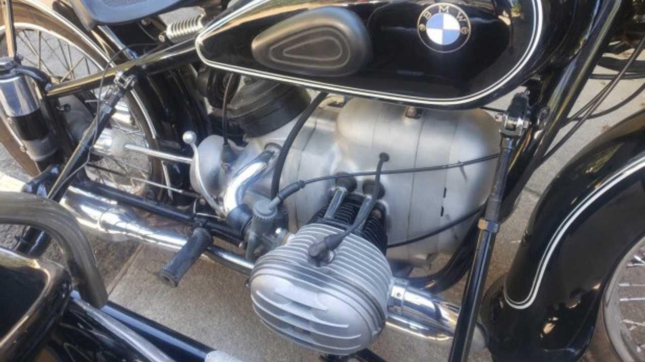 Bring a Trailer: 1953 BMW R51/3 Steib Side Car