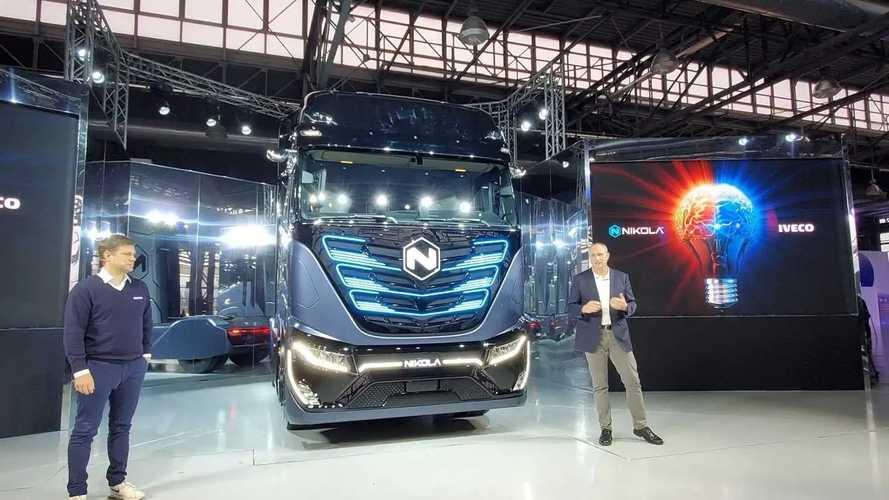 Электрогрузовики Nikola будут производиться на заводе Iveco