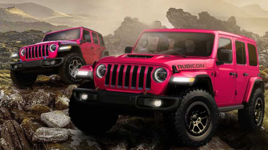 2021 Jeep Wrangler Adds Tuscadero Pink To Color Palette
