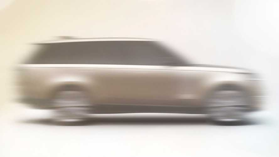 2022 Land Rover Range Rover teased prior to 26 October debut