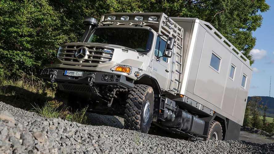 Mercedes-Benz Zetros als robustes Expeditionsfahrzeug