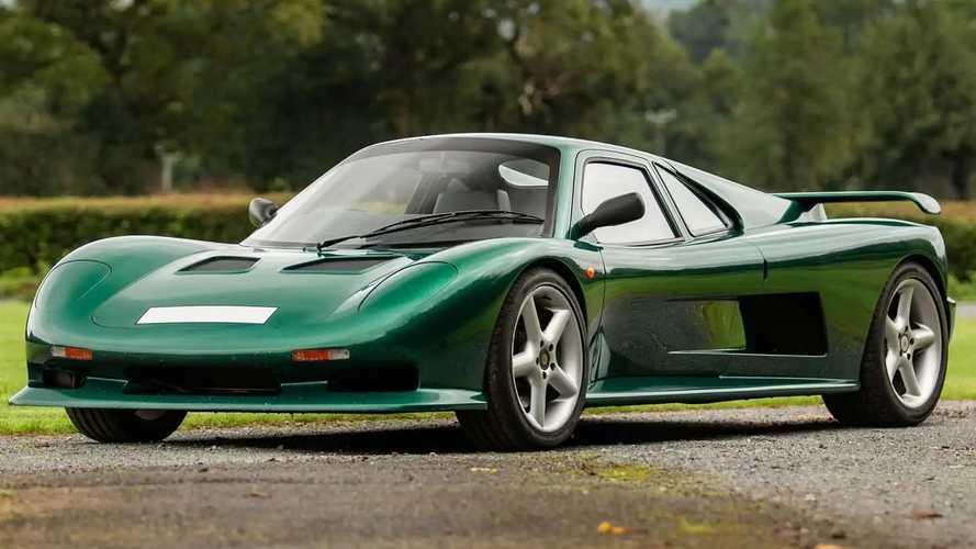 Ascari FGT, all'asta il prototipo con motore Chevy V8 centrale