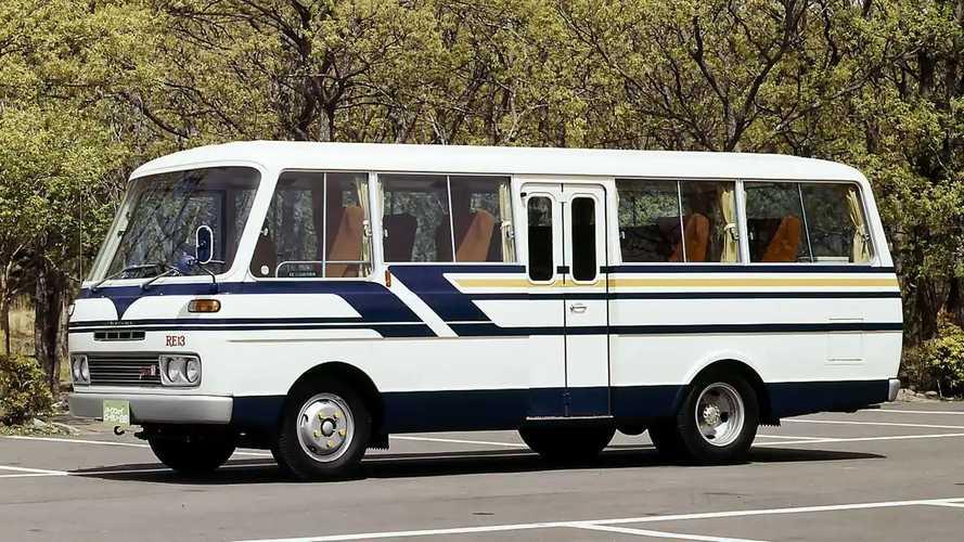 Mazda Parkway Rotary 26 (1974): Ein Bus mit Wankelmotor