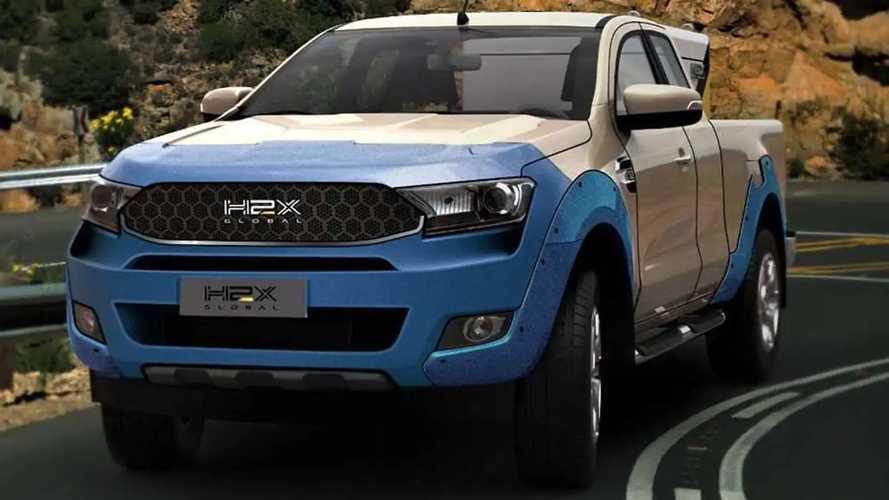 Startup Shows Ford Ranger-Based Hydrogen Fuel Cell Pickup