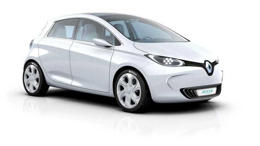 Renault Zoe Preview Concept